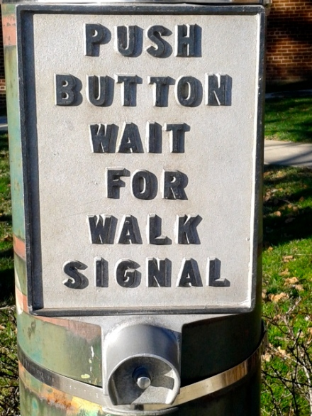 Walk Button