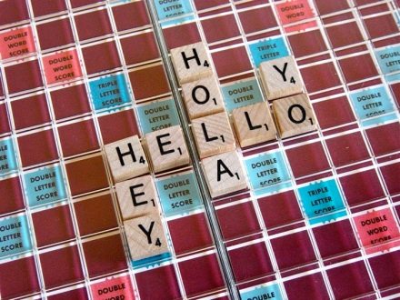 Scrabble Greetings